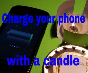 Charge Your Phone With a Candle!