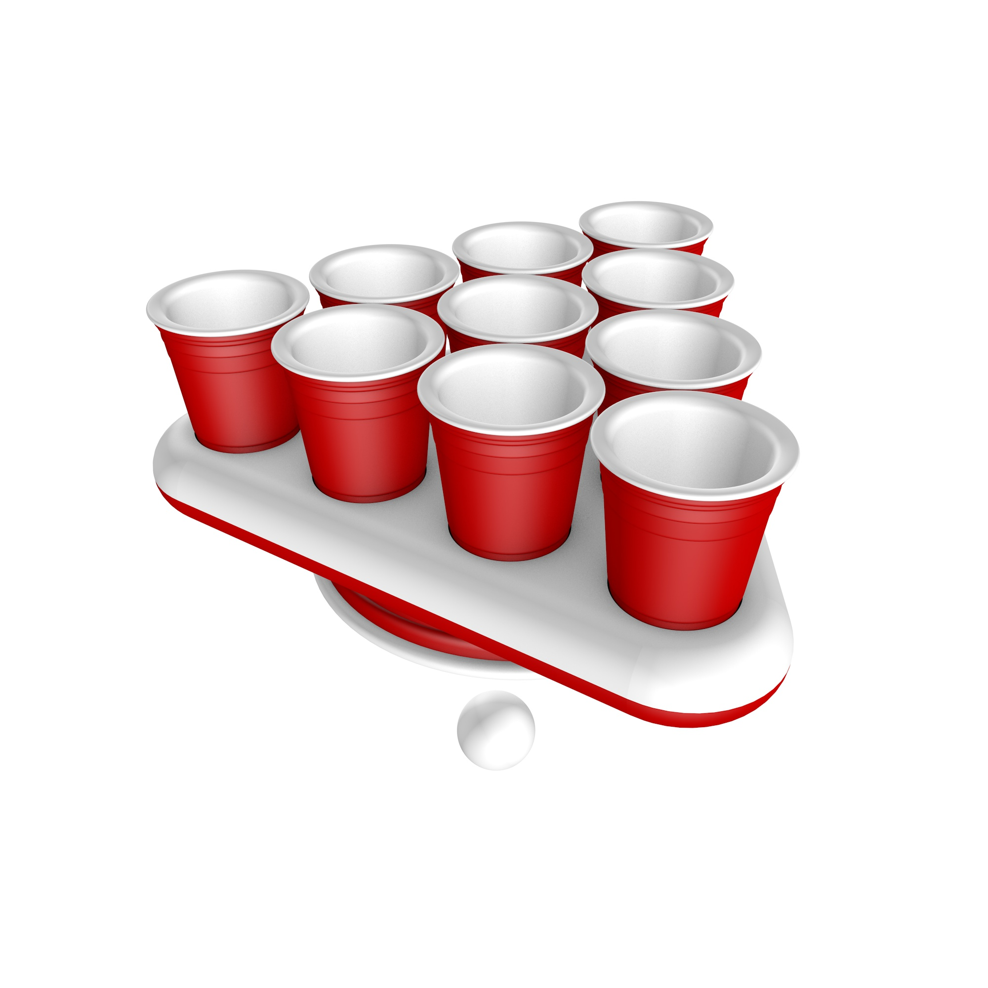 Beer Pong Shot Table Fidget Spinner