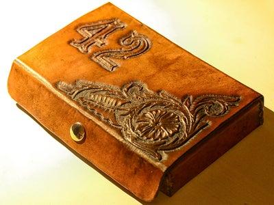 Leather Domino Case