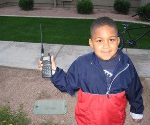 Icom Handheld Dual-Band Radio Mod