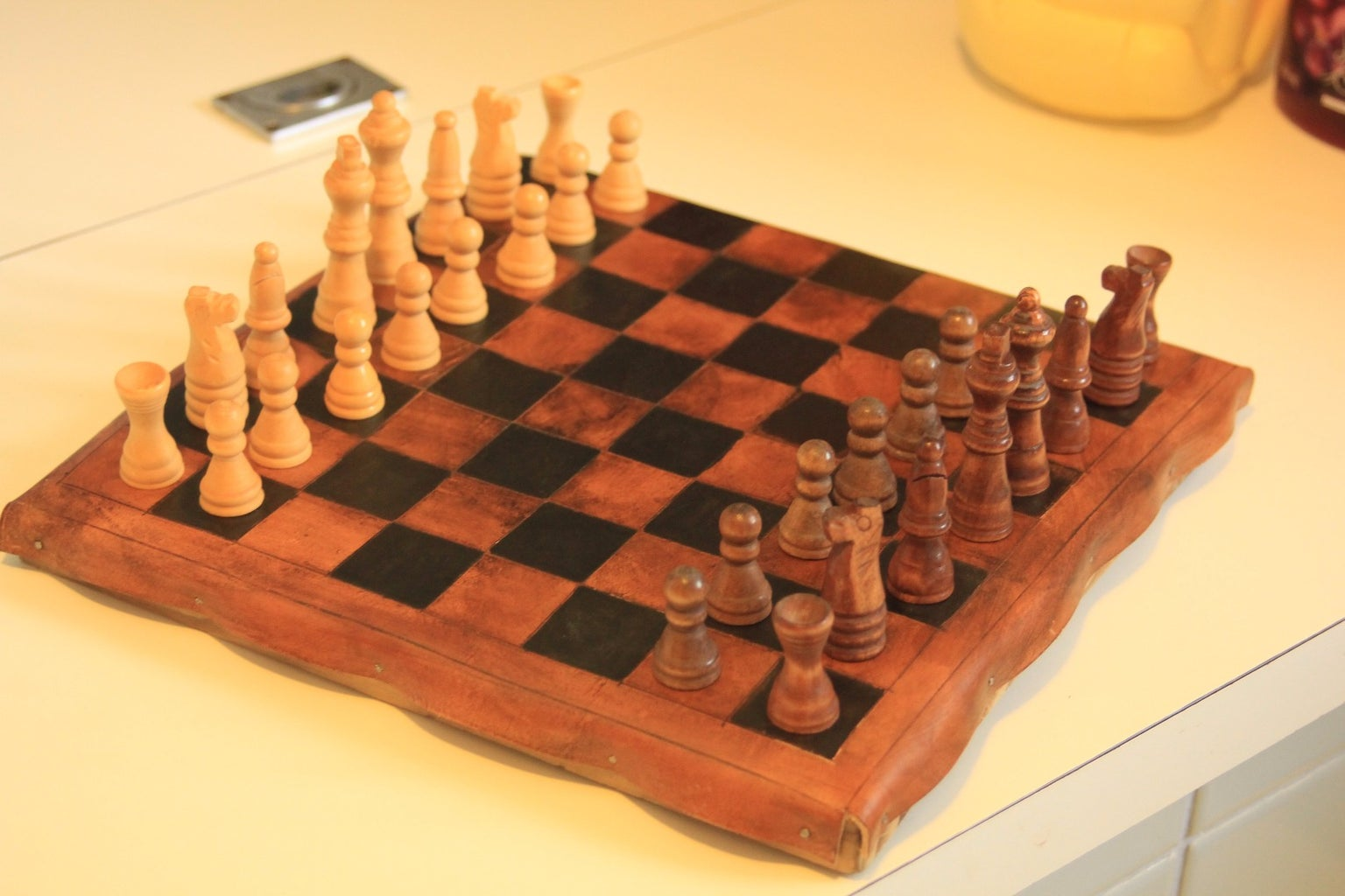 Leather Chessboard