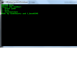 Batch File Dragon Game Updated