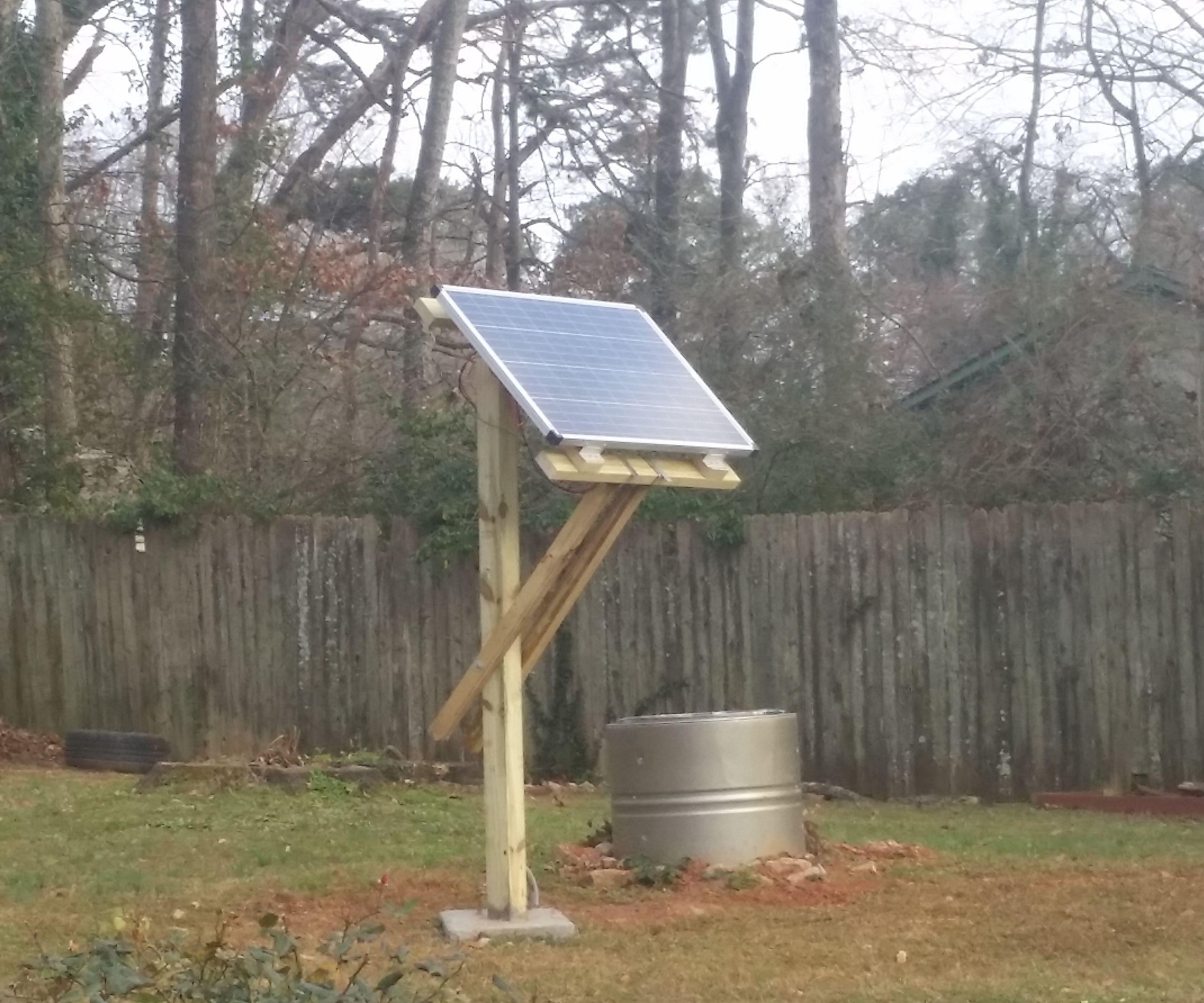 Tiltable Solar Panel Mount