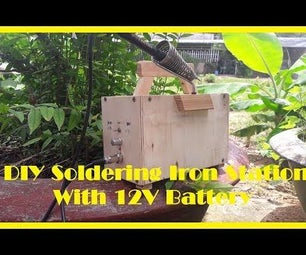 DIY Portable Soldering Iron Station