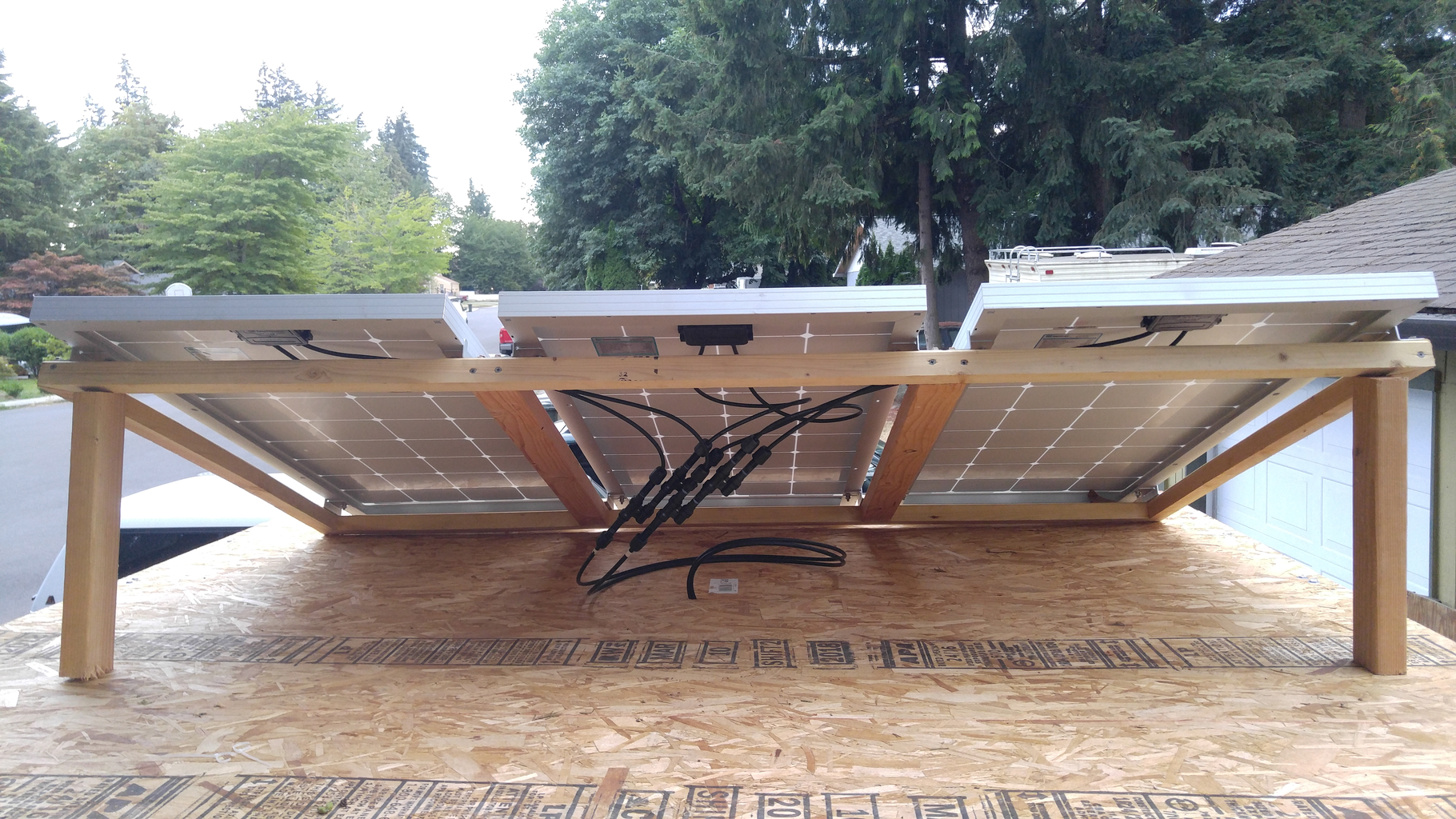 Install and Connect Solar Panels