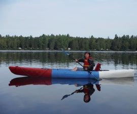 Sawfish, the Unsinkable, Lightweight, Foam Kayak, Free DIY Kayak Plans, Anyone Can Build