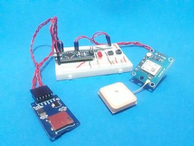 Arduino GPS Register With Arduino