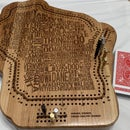 Make Your State or Country Cribbage Board