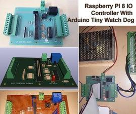 Raspberry Pi 8 IO控制器与Arduino小看狗