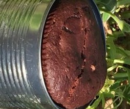 Backpacker's Instant Chocolate Cake