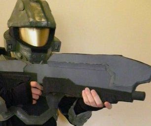 How to Make a Lifesize Halo Assault Rifle