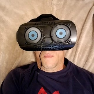 Your Own Custom VR Headset W/Fans