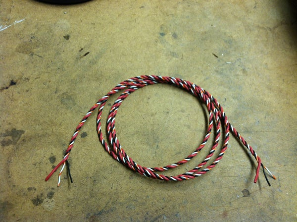 Reduce Clutter by Twisting Wires