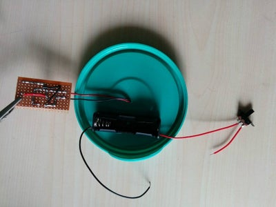 Connect the Solar Panel and Battery to the Circuit