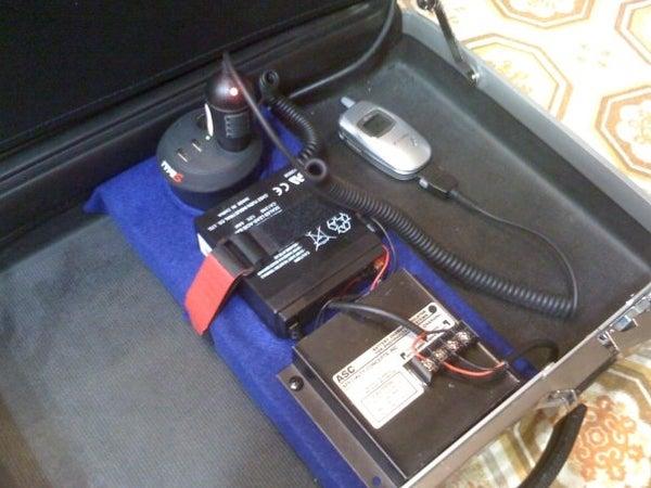 Solar Powered Briefcase
