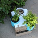 Water Fountain Planter Made With Tinkercad