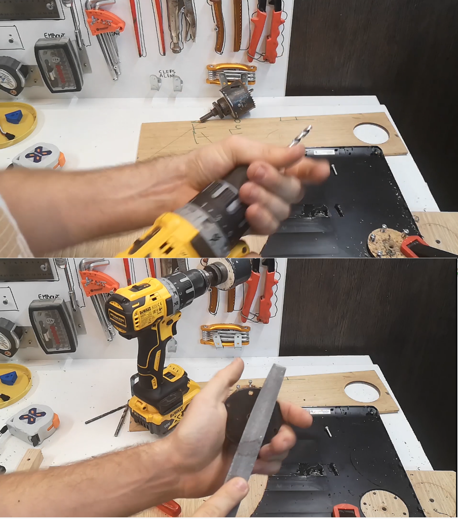 Fabriquer Des Pattes De Montage / Make Mounting Brackets