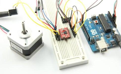 Wire the Arduino