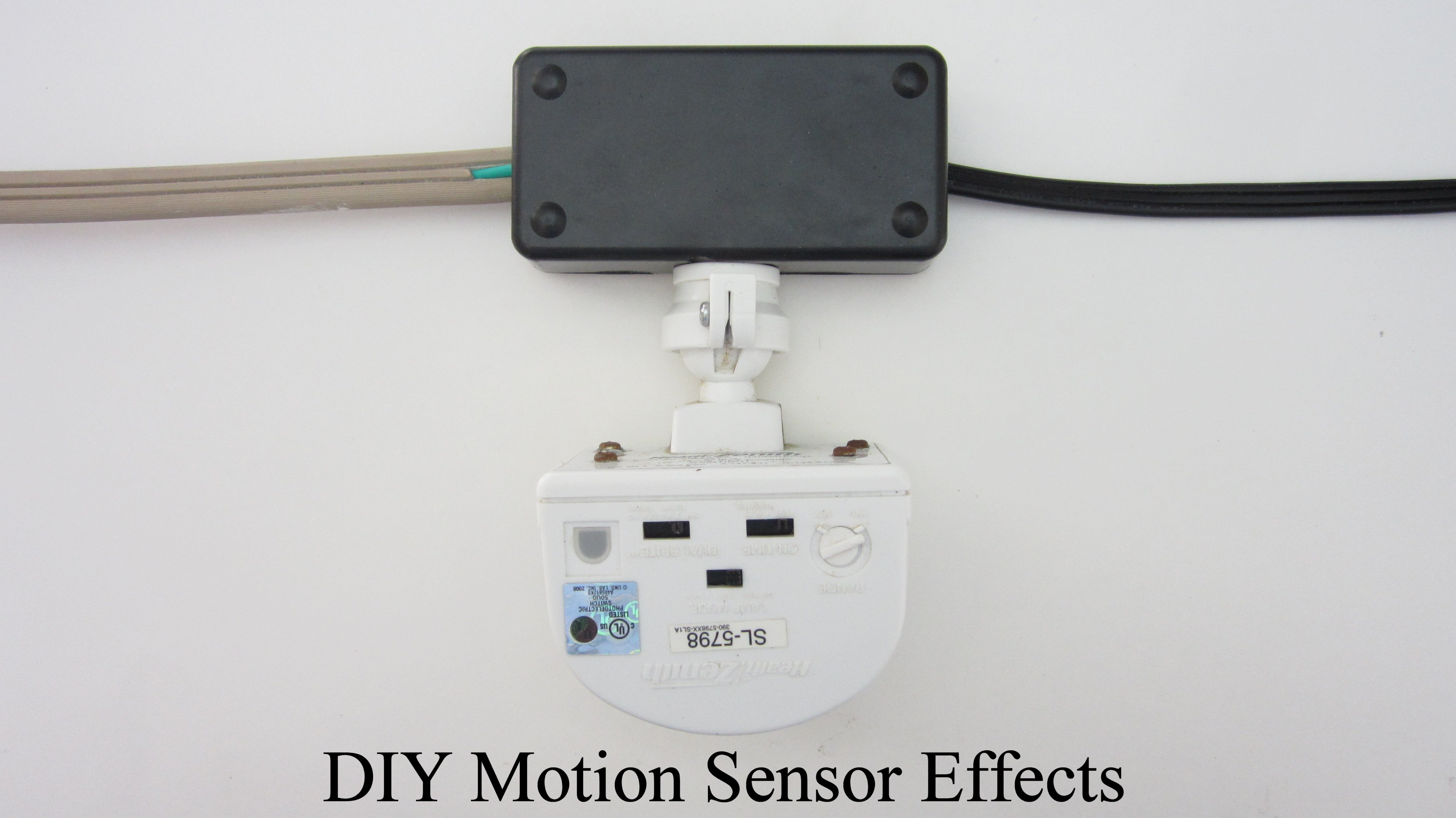 Use a Motion Sensor to Automate Your Haunted House