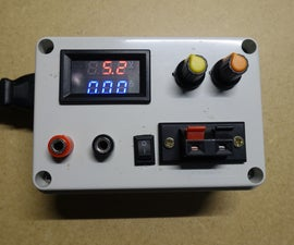 CC/CV Power Supply