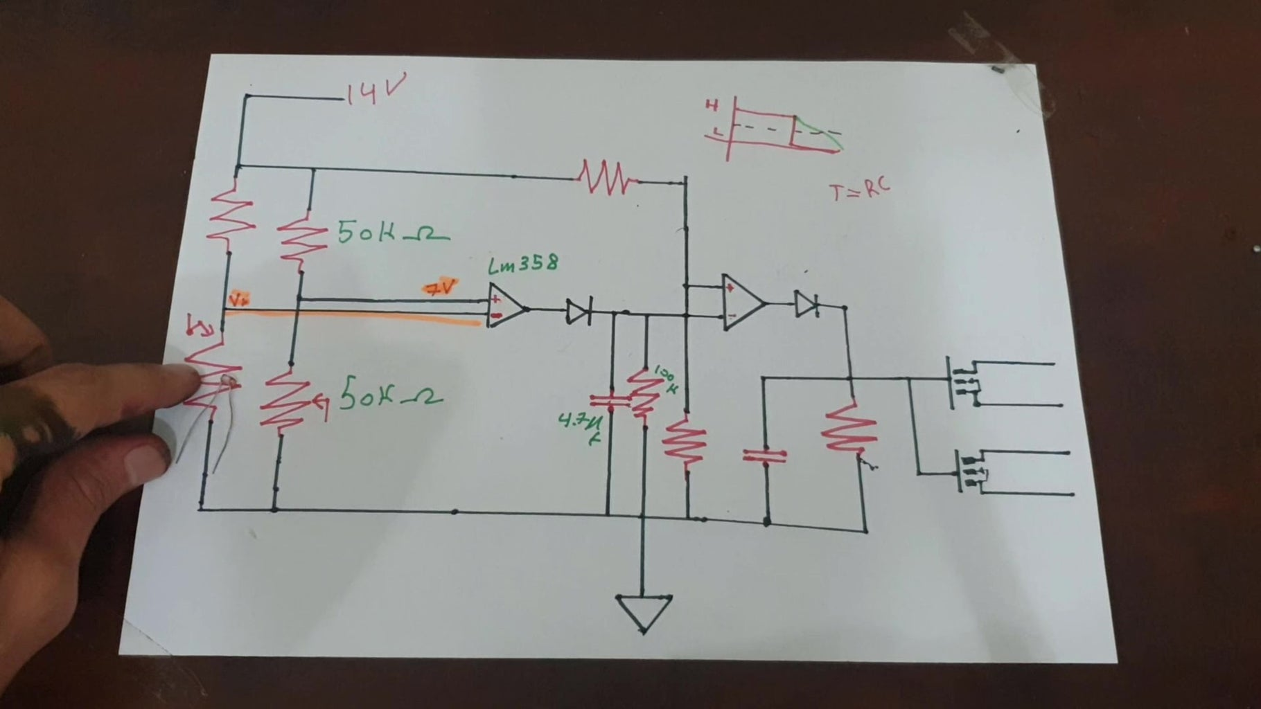 The Circuit Schematic