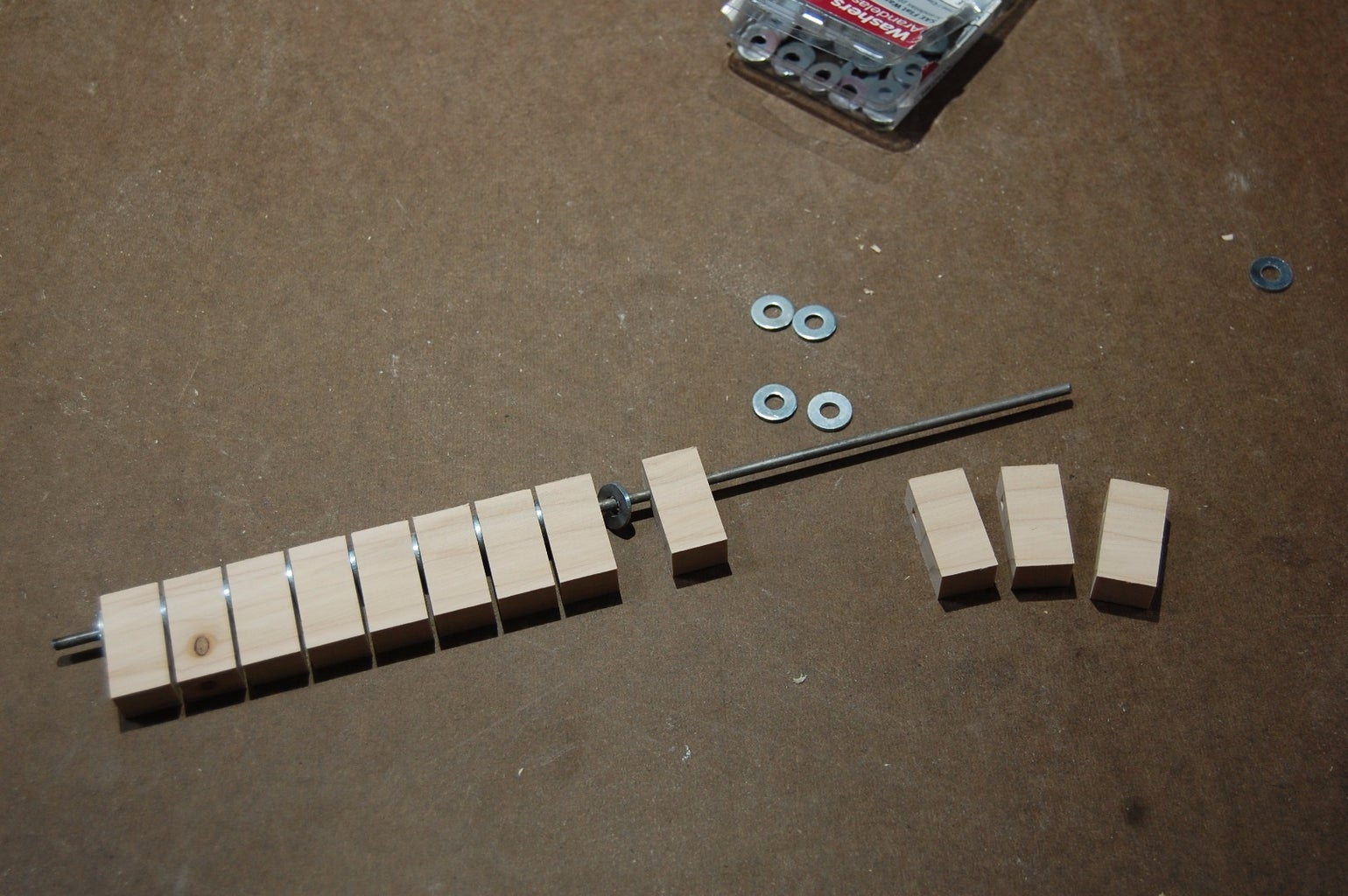 Cutting the Individual Tiles