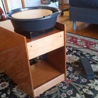 DIY Pottery Wheel  (Using Treadmill Motor)