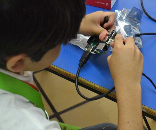 Centro De Cómputo Para Niños Con Raspberry Pi