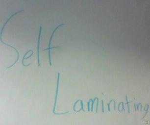 Self Laminating