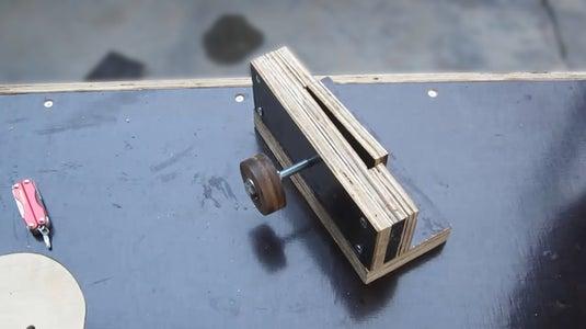 Make Sliders, Hitch Pin.