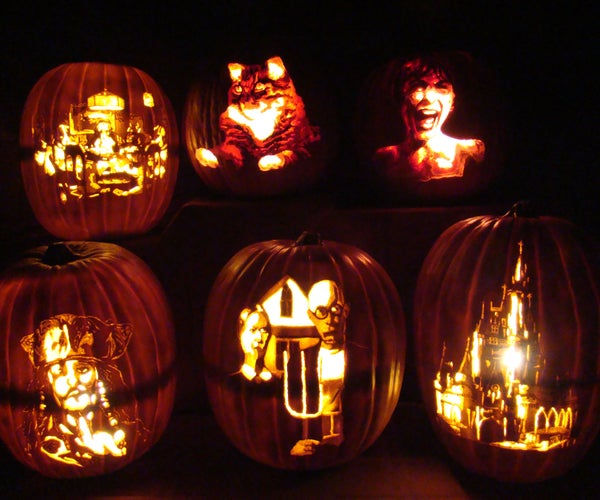 Advanced Faux Pumpkin Carving