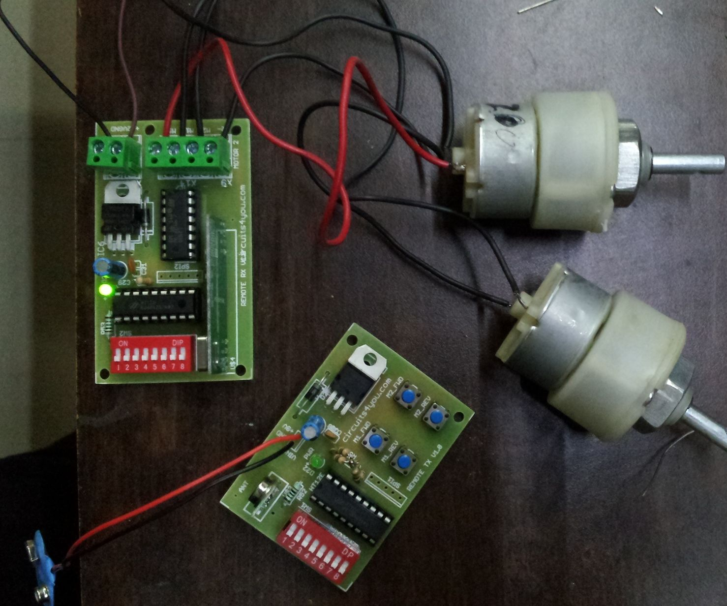 Simple Wireless Remote for Robot