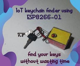 IoT Keychain Finder Using ESP8266-01