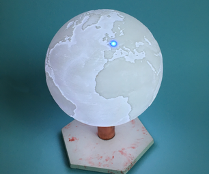 ISS Tracking Lamp