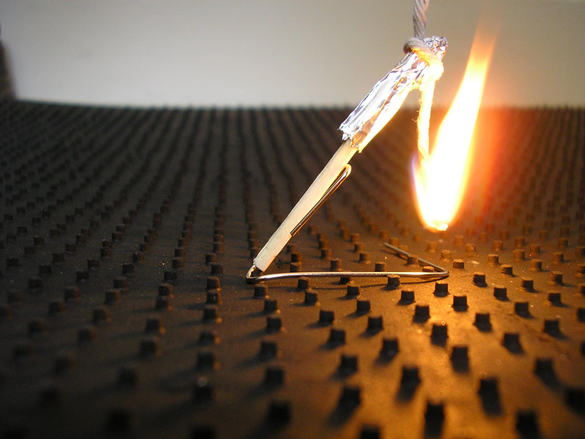 Fused Matchstick Rocket