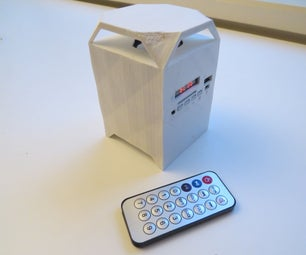 3D Printed Mini Bluetooth Stereo Speaker