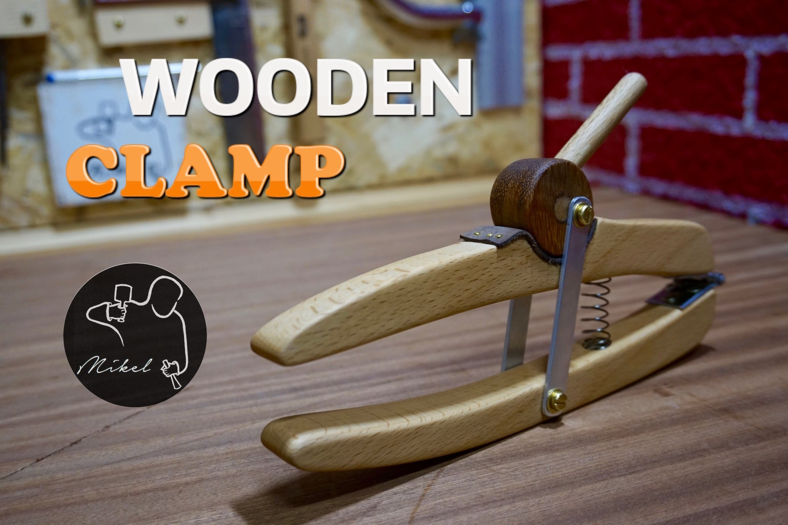 Homemade Wooden Clamp