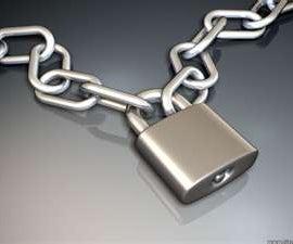 Build an Easy Temporary Door Chain Lock