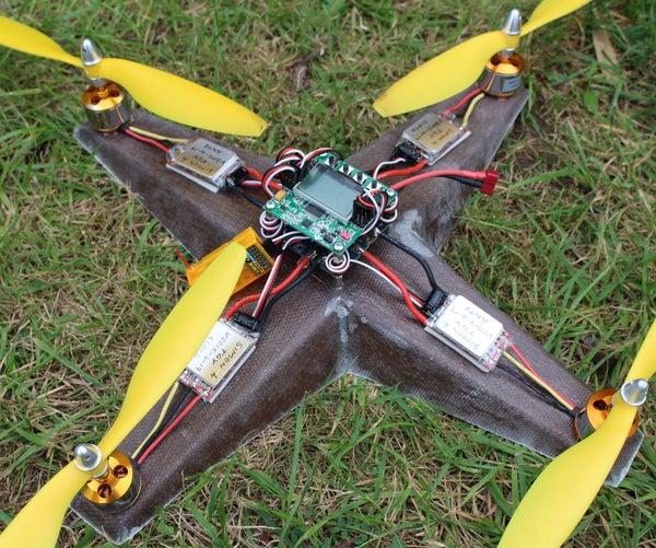 Cardboard Quadcopter.
