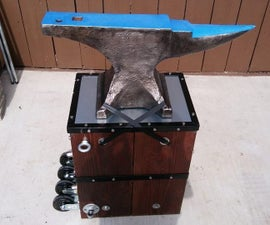 Making an Anvil Stand That Rolls Like a Dolly