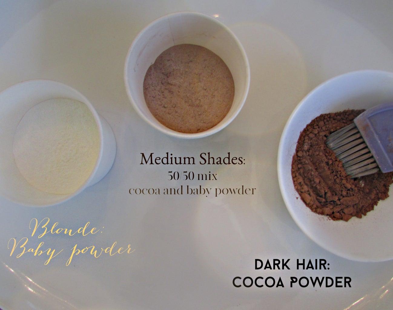 Cocoa Powder Dry Shampoo