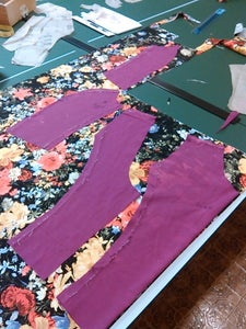 Cutting the Real Fabric