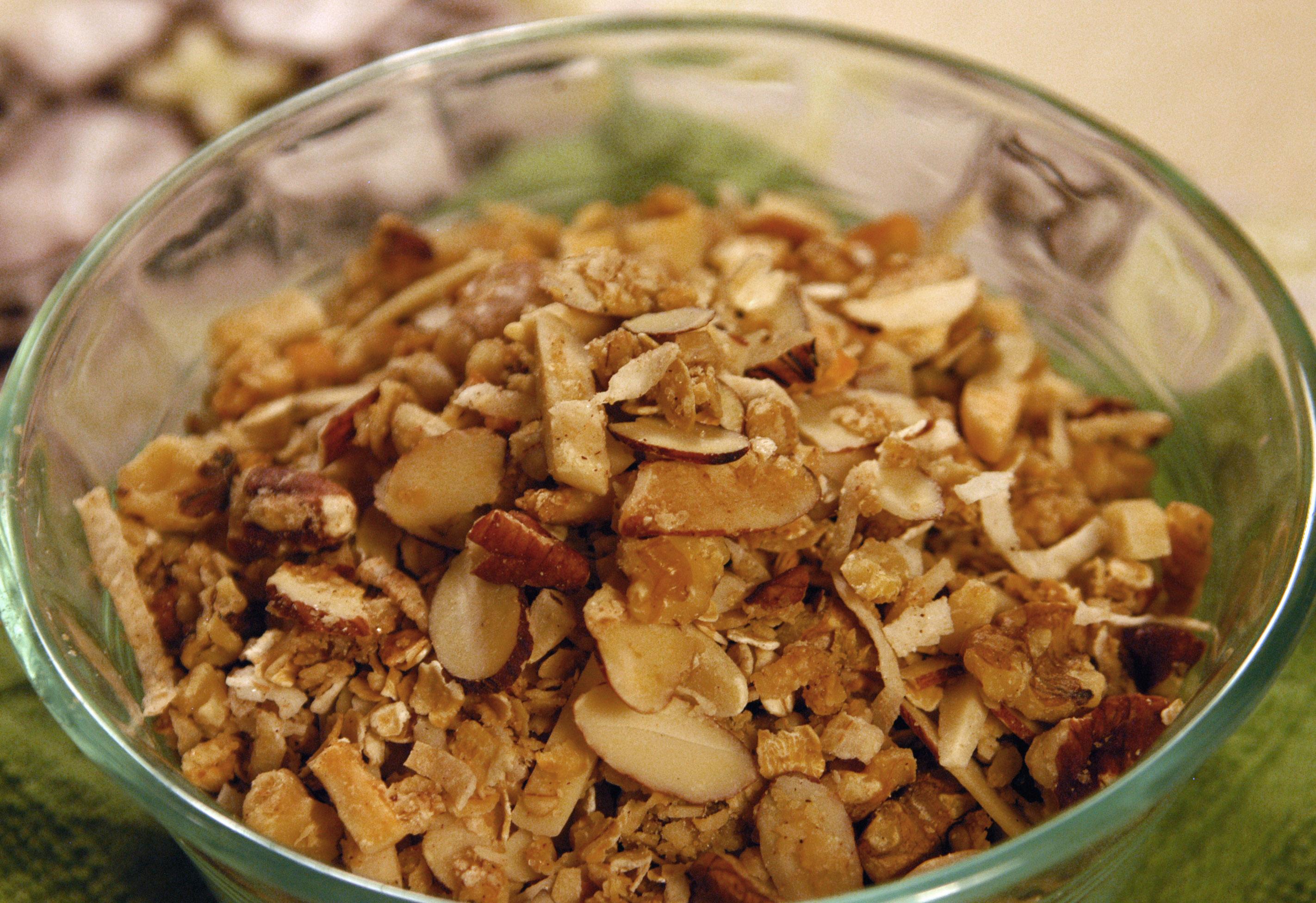 Healthy Delicious Homemade Granola