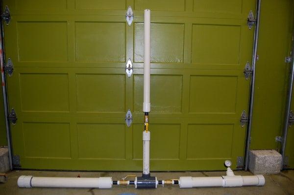 Fuel/Air Hybrid Potato Gun