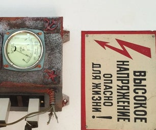 OLD SOVIET SWITCH BOX