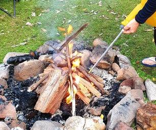 Camp Fire Bellows