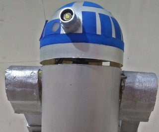 Voice Controlled R2D2 Inspired Droid Using Blynk and Ifttt