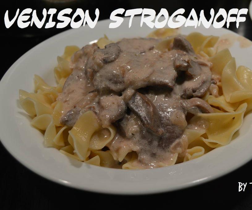 Venison Stroganoff