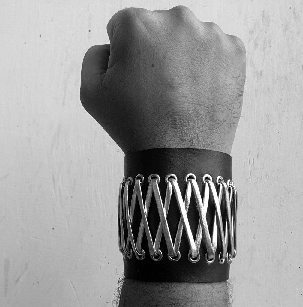 Stylish Unisex Bracelet Using Car Inner Tube