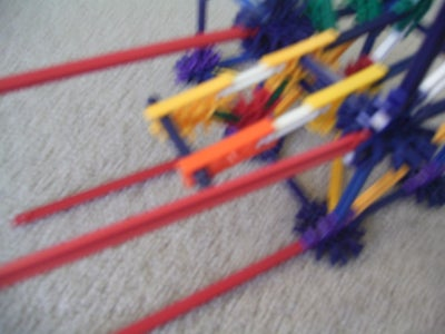 Adding 4 Red Rods